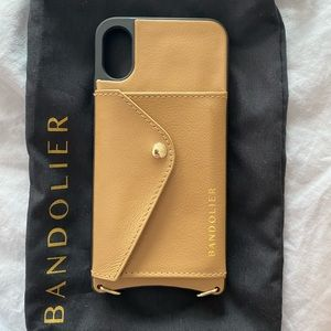 Bandolier Reese Side Slot IPhone X/XS Case